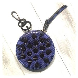 Adorable round studded coin purse